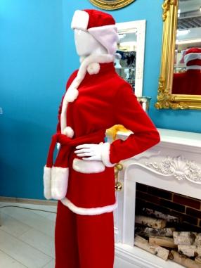 Санта в ушанке