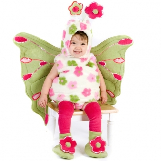 Плюшевая бабочка